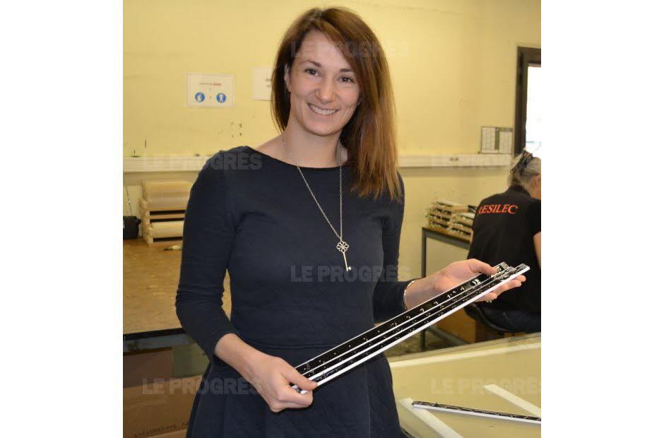 Guillaumette Gas gérante de Resilec